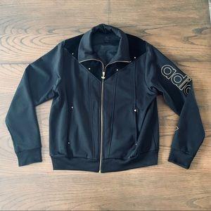 Rare suede Adidas like new jacket Size XL